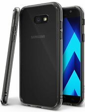 Galaxy A7 2017 Case, Ringke [FUSION] Clear Back Shockproof Drop Protective Cover
