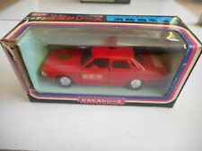 Sakura Nissan Cedric Fire Brigade in Red in Box