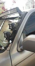 Windshield Pillar Mounted Brackets LED Light Bar FITS Toyota 4Runner 1996-2002
