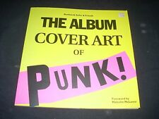 The ALBUM COVER ART of PUNK Burkardt Seiler Book Soft Bound NEW FE 1998 120 page
