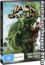 Jack The Giant Slayer DVD NEW, FREE POSTAGE WITHIN AUSTRALIA REGION 4