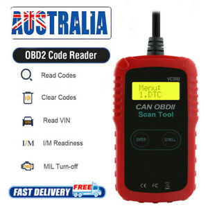 Car EOBD OBD2 Check Tester Engine Fault Code Reader Auto Diagnostic Scanner Tool