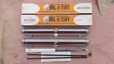 NOS ROL-O-TINT SUN SHIELDS Window Screens Shades Vintage lowrider bomb chevy gmc
