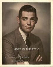 ORIGINAL VINTAGE CLARK GABLE MGM MAILAWAY PORTRAIT PREMIUM