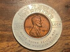 T2: Los Angeles, Calif., Mount Sinai Hospital And Clinic, Encased 1940's Penny