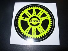 CRANK ARM BREWING Raleigh Motivator STICKER decal craft beer brewing brewery