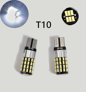 T10 W5W 194 168 2825 12961 Parking marker Light 6K White 54 SMD Canbus LED M1 R