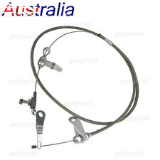 For Ford C4 Stainless Braided Kick Down Cable Transmission Kickdown Trans AU KT