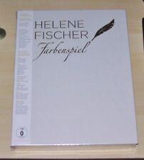 HELENE FISCHER FABENSPIEL DER BILDBAND LIMITIERTE BOX CD + BLU RAY + DVD NEU
