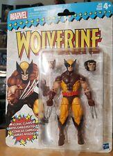"New listing 2017 Marvel Legends Retro X-Men Brown Suit Wolverine 6"" Action Figure Hasbro"