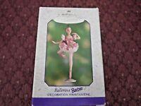 """HALLMARK KEEPSAKE ORNAMENT 2000  """"BALLERINA BARBIE"""" BRAND NEW W  EX CONDITION"""