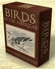 BIRDS of the AMERICAS 148 Vintage Books on DVD-Rom Ornithology, American Birds