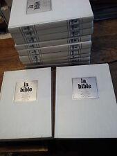 Aujourd'hui la bible 10 volumes + un index complet nouveau & ancien testament