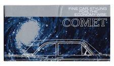 1960 Mercury Comet Styling Features Brochure