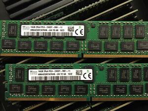 SK Hynix 64GB (4x16GB) PC4-2400T-RB1-11 DDR4 REG-ECC Speicher DIMM HMA42GR7AFR4N