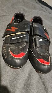 specialized black bicycle shoes 10 1/2M