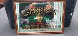 Guinness Extra Stout Bar Mirror.