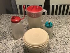 Lot of 4 Rubbermaid Items-pitchers, Servin Saver Look!