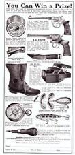 1931 Vintage ad National Sportsman Creek Chub LL Bean Marbles H &R Revolver More