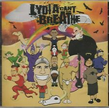 Lydia Can't Breathe - At the Bottom of the Podum Stole - Rare Seled CD - 1224