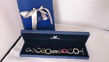 Genuine Swarovski Vintage multi-colour crystal bracelet RRP£125 birthday prom