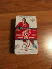 2009 Upper Deck Montreal Canadiens Centennial Empty Tin Box JEAN BELIVEAU