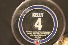Red Kelly Toronto Maple Leafs Hall of Fame Puck Viceroy with puck holder