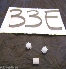 Ingranaggi ingranaggio pezzi di ricambio modellismo meccanismi in plastica 33E