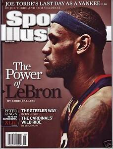 Lebron James Cleveland Cavaliers Sports Illustrated No Label