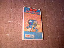 Vintage VERY RARE Retro SMURF LOOK ALIKE HAND HELD Game By TOMY 1975 PALITOY