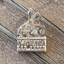 10 Original Metal HACIENDA HOTEL LAS VEGAS Cowboy Tie Tack Pin 1960s