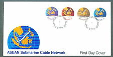 Singapore  FDC ASEAN Submarine cable network 3.10.1978