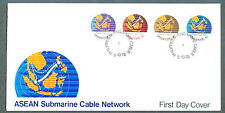 S'pore  FDC ASEAN Submarine cable network 3.10.1978