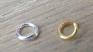 Split rings, jump rings, jewelry findings, gold/silver, charms? necklace? making