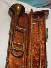 Vintage HN White Conn 2b Liberty Trombone With Case