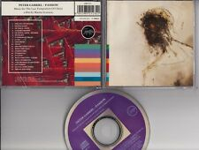 PETER GABRIEL Passion CD SOUNDTRACK 1989 WEST GERMANY RWCD1 REAL WORLD SONOPRESS