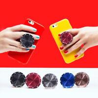 Aluminum SocketvMoblie Phone Holder Metallic Grip & Stand Finger Ring For Phone