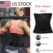 Lady Trainer Body Shaper Sauna Sweat Waist Tummy Slimmer Belt Corset Weight Loss