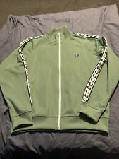 Mens Fred Perry Track Top/jacket Size Large