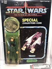 AFA 85 Kenner 1985 Star Wars A-Wing Pilot POTF 92-back Y-NM+ (80-85-85)