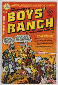 Boys' Ranch #2 Jack Kirby Canadian Edition Superior 1950  F/VF 7.0