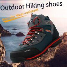 Hiking Shoes For Men Suede Breathable Trekking Sneakers Waterproof Anti-Slippery