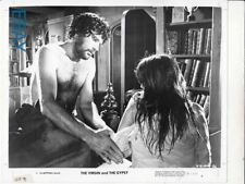 Bare chested Franco Nero touches Joanna Shimkus VINTAGE Photo