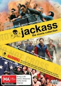 Jackass Movie Coll 1 2 And 2.5 DVD