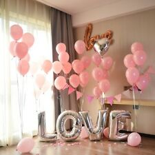 Love Letter Foil Balloons Propose Valentine's Wedding Decorations Party Supplies
