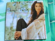 1 TRACK PROMO CD SHANIA TWAIN - FOREVER AND FOR ALWAYS - SPAIN 2003 VG+/VG
