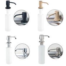 4 Color Press Type ABS Plastic Kitchen Sink Match Liquid Soap Dispenser Bottle
