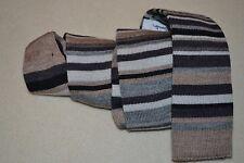 PAUL SMITH PS laine tricot Cravate rayée HOMMES TOUT NEUF