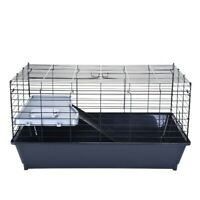 Small Animal Cage Pet Supplies Home Universal Indoor Hamster Guinea Pig Gray US