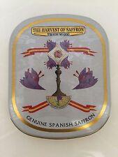 100% Pure Spanish Saffron - 3x1 gram tins - SUPER SALE! Nomad Spice Co.